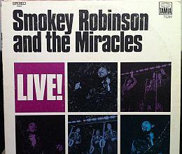 Smokey Robinson & The Miracles -  LIVE!