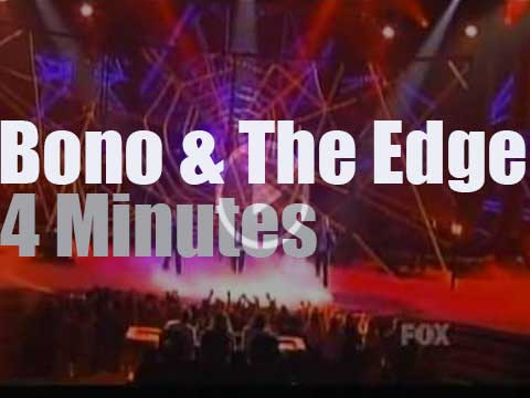 Bono, The Edge and Spiderman are on American TV (2011) - Radio Video