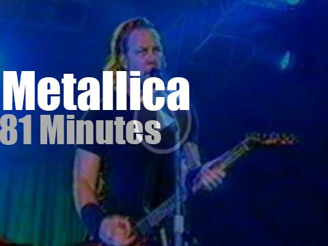 Metallica hard rocks Romania [1999) - Radio Video Music