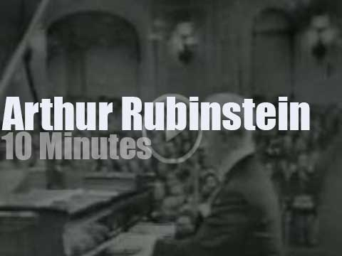 Arthur Rubinstein plays Chopin in Moscow (1964) - Radio