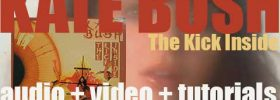 EMI publish Kate Bush's debut album : 'The Kick Inside' featuring 'Wuthering Heights' (1978)
