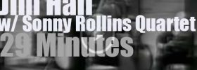 """Jim Hall joins the Sonny Rollins Quartet on """"Jazz Casual"""" (1962)"""