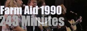 More than 30 artists attend Farm Aid (1990)