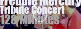 David Bowie, George Michael, Elton John et al  join Queen  (1992)