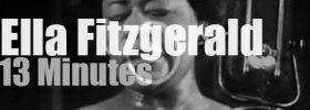 Ella Fitzgerald sings in Cannes (1958)