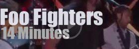 On TV today, Foo Fighters with Ellen DeGeneres (2014)
