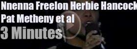 Nnenna Freelon has a stellar backing band (1996)