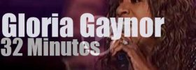 On TV today, Gloria Gaynor at 'MAX proms' (2011)