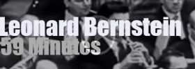 On TV today, Leonard Bernstein & 'What Does Music Mean' (1958)