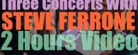 Happy Birthday to Steve Ferrone. 'Three Concerts with Steve Ferrone'