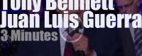 On TV today, Tony Bennett & Juan Luis Guerra duet  (2012)