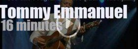 Tommy Emmanuel boogies at 'Leverkusen Jazz Festival' (2006)