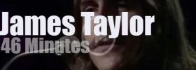 On English TV today, James Taylor at BBC 'In Concert' (1971)