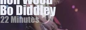 Ron Wood meets Bo Diddley (1987)