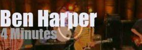 "On TV today, Ben Harper sings at ""Conan"" (2013)"